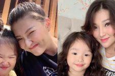9 Momen Sarwendah dan Thalia kembaran gaya rambut, imut abis
