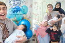 Perjuangan istri Irfan Hakim sebelum melahirkan, naik motor ke RS