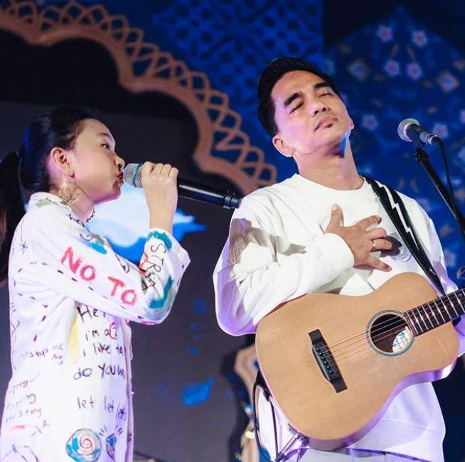 zara & enda manggung bareng © 2019 brilio.net