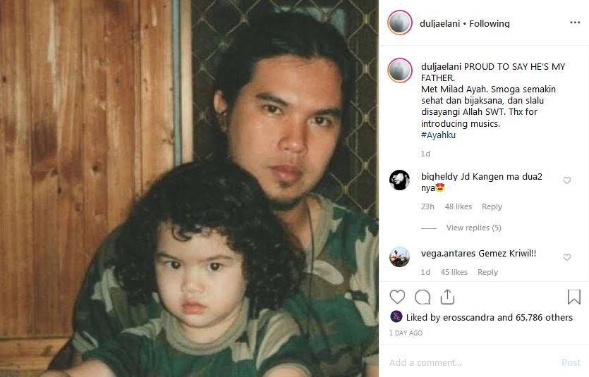 unggahan foto lawas ketiga anaknya istimewa
