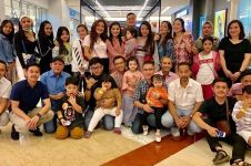 7 Momen bukber keluarga besar Ashanty, Millendaru jadi sorotan