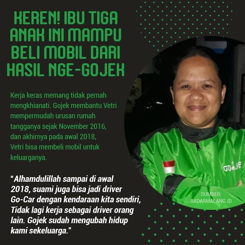 kisah haru driver ojol © 2019 brilio.net