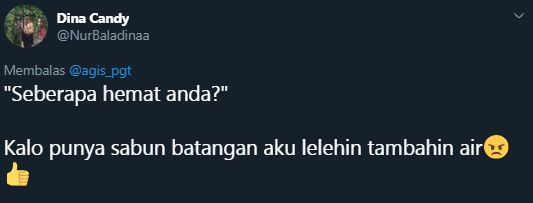 seberapa hemat anda © 2019 Twitter