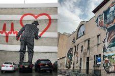 15 Seni mural di ruang publik ini bikin takjub