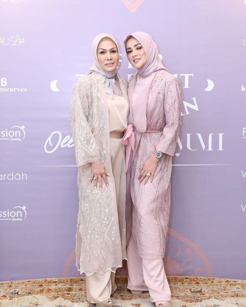 gaya hijab olla ramlan © 2019 brilio.net