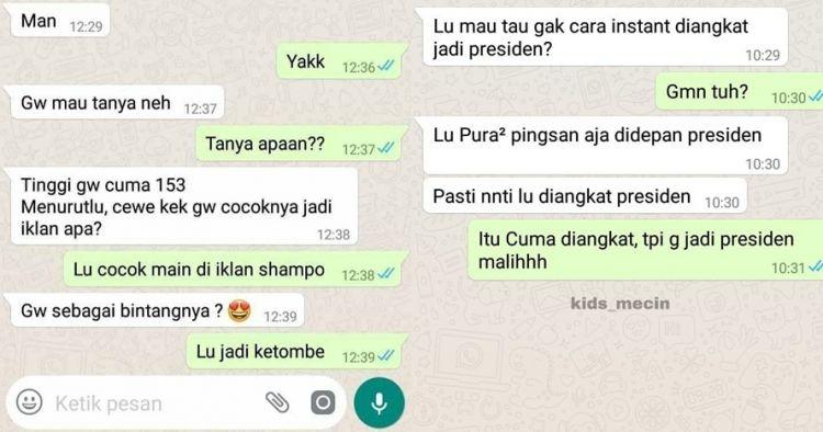 11 Chat lucu minta saran ke teman ini endingnya bikin kesal