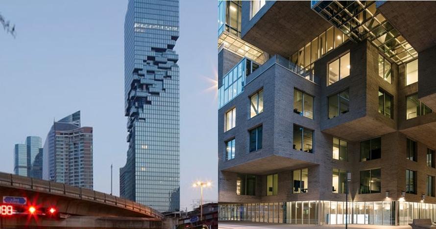 Mirip permainan Jenga, 10 gedung pencakar langit ini bikin heran