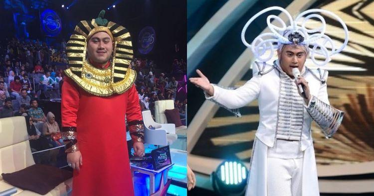 8 Gaya kostum nyentrik Nassar di atas panggung, bikin tepuk jidat