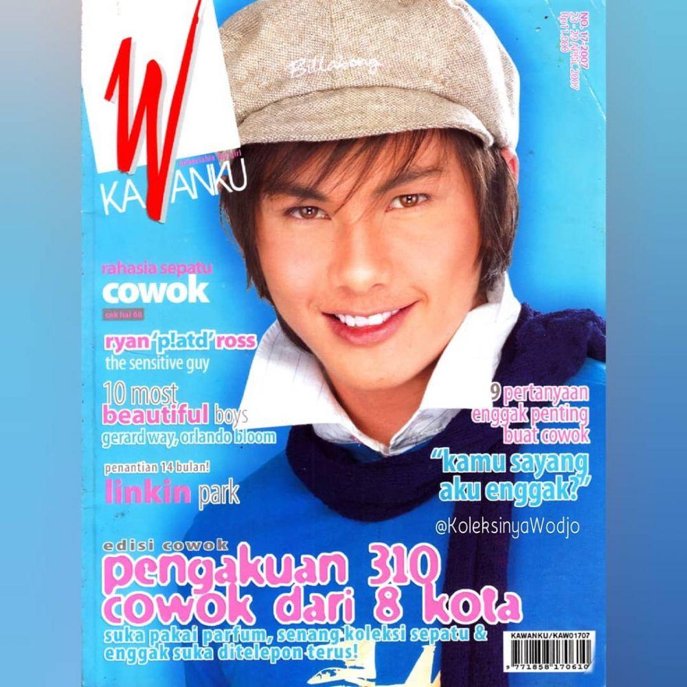 Potret lawas aktor ganteng saat jadi cover majalah © 2019 brilio.net