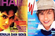 15 Potret lawas aktor ganteng jadi cover majalah, pesonanya tak luntur