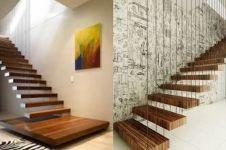 10 Inspirasi desain tangga melayang ini bikin tamu terheran-heran