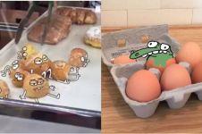 8 Animasi lucu jika makanan memberontak ini bikin senyum tipis