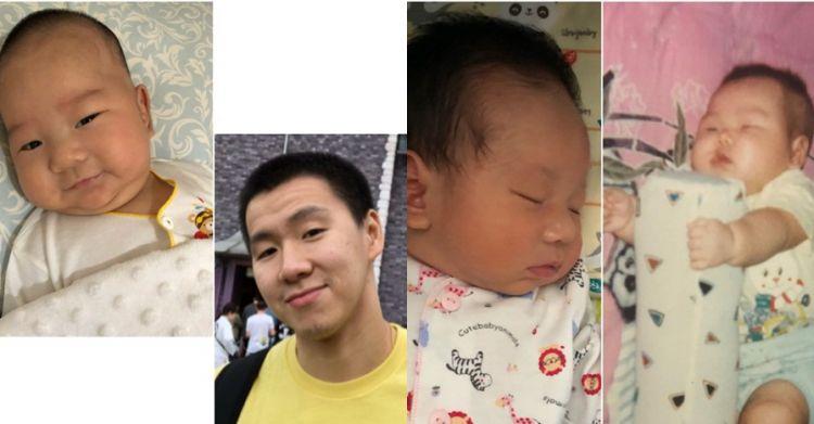 8 Foto kemiripan Marcus Gideon dan anaknya ini bagaikan copy paste