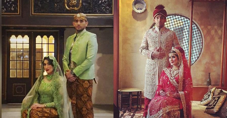 9 Gaya prewedding Tania Nadira & kekasih, pakai adat Jawa & India