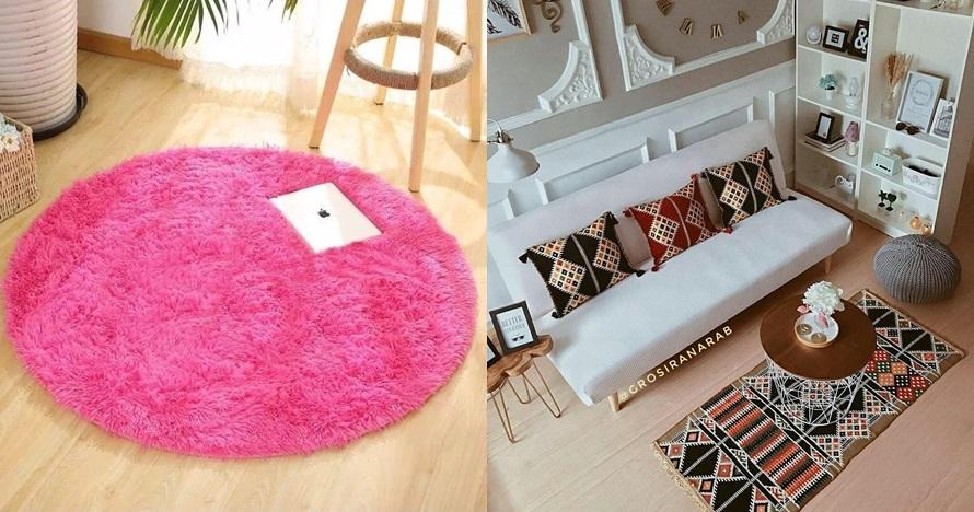 25 Desain karpet unik cocok untuk ruang minimalis