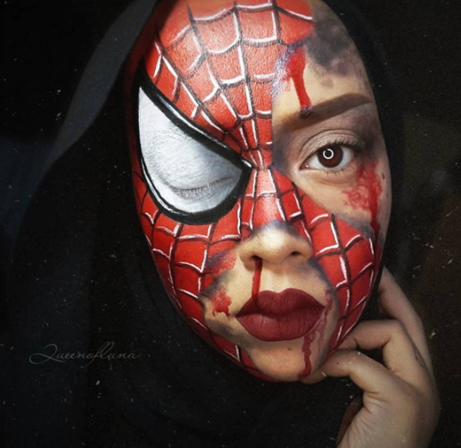 Potret cosplayer berhijab tirukan karakter Avengers © 2019 brilio.net