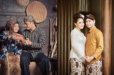 Gaya pemotretan 14 pasangan seleb dengan adat Jawa, klasik banget