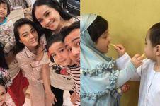 6 Potret kebersamaan keluarga Raffi Ahmad & Anang Hermansyah