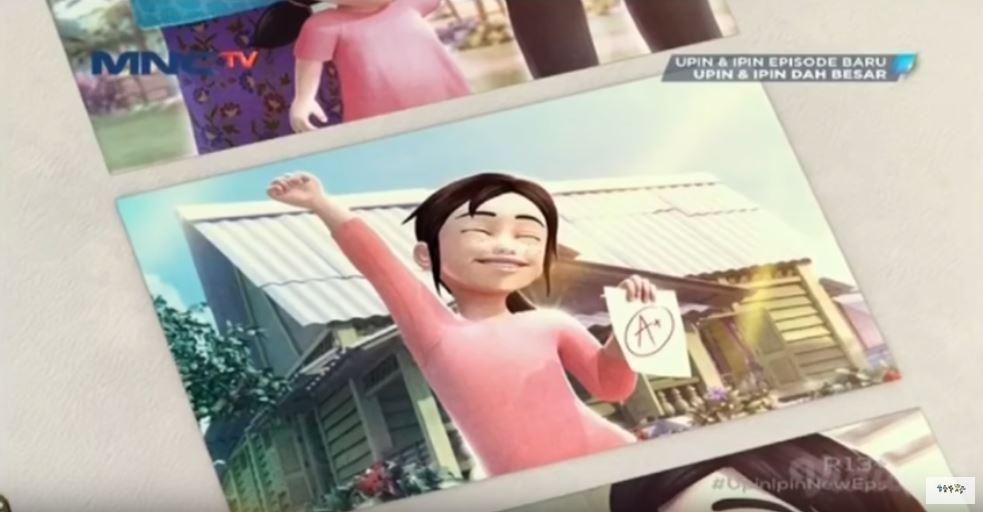Potret masa kecil Kak Ros Upin Ipin istimewa