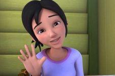 11 Potret masa kecil Kak Ros Upin Ipin, beda banget
