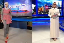 9 Gaya presenter berita usai putuskan berhijab, makin elegan