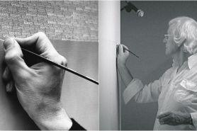 Kisah Opalka, sejak 1965 lukis urutan angka 1 hingga tak terbatas