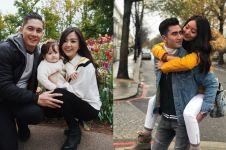 5 Pasangan seleb ini berlibur selama sebulan di luar negeri