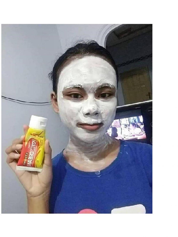 tingkah orang pakai masker wajah  © 2019 brilio.net