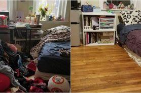 10 Potret beda kondisi ruangan orang depresi & setelah sembuh