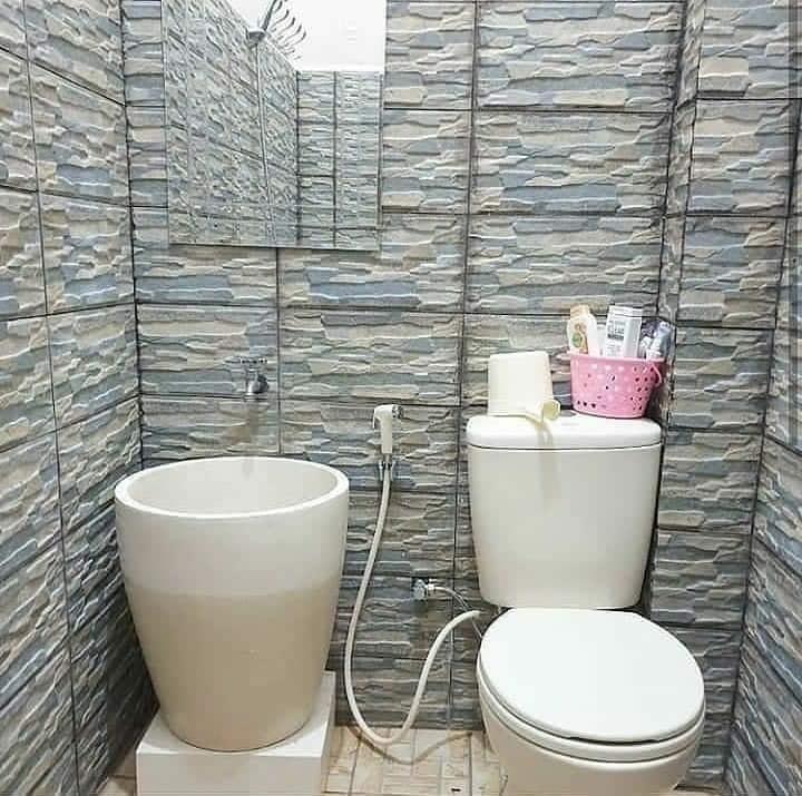 Desain bak mandi