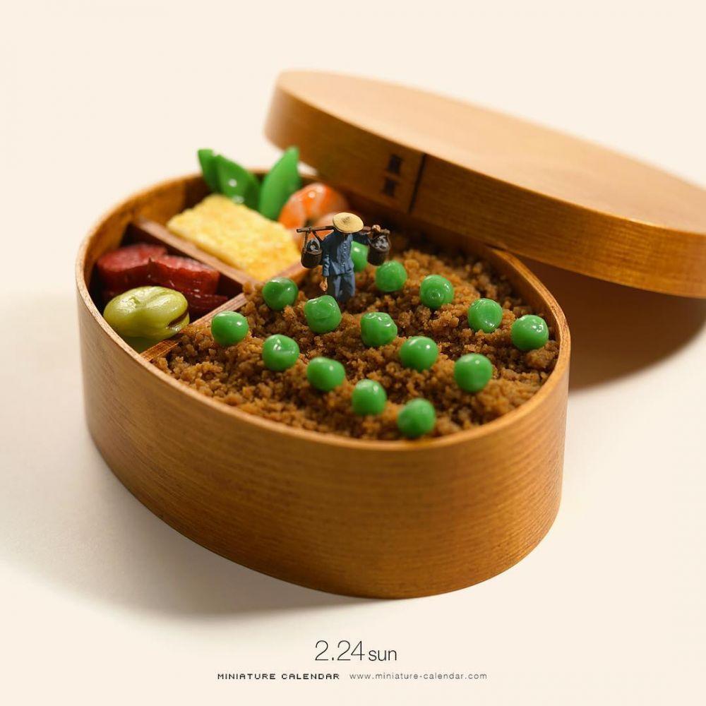 miniatur sayuran kece  © 2019 brilio.net