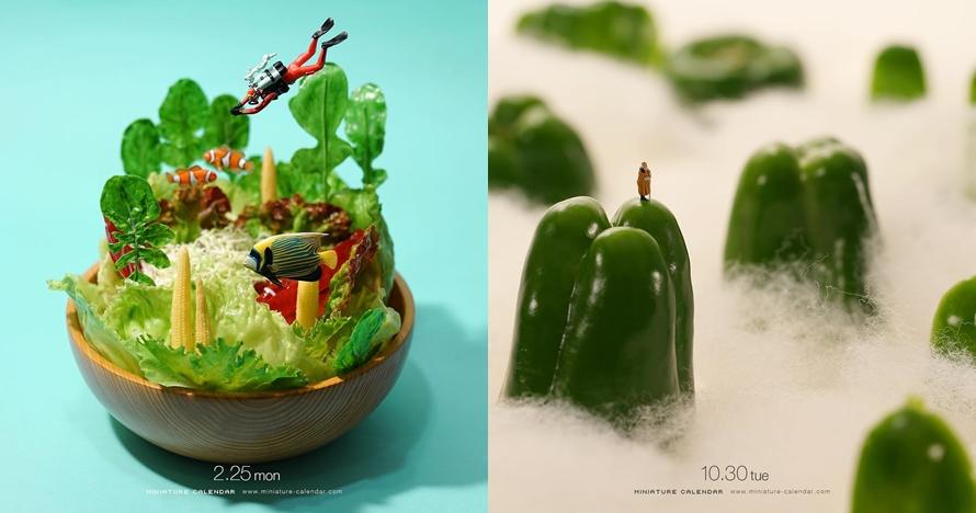 13 Miniatur dari sayuran ini hasilnya bikin takjub, wow!