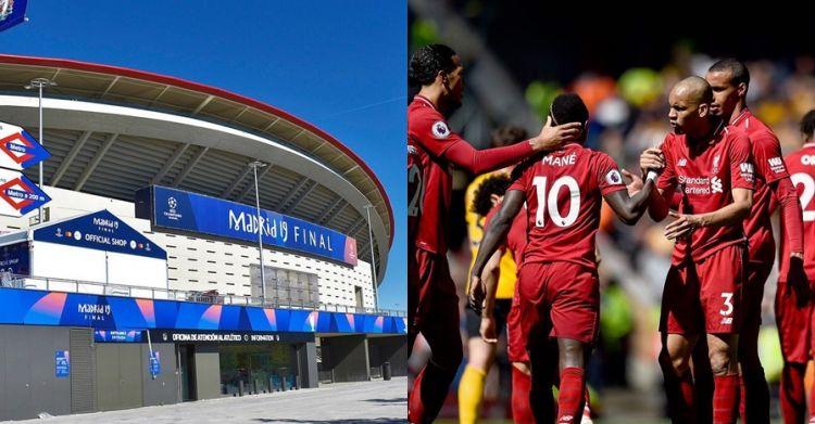 Momen bus Liverpool nyangkut di lorong stadion final Liga Champions