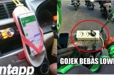 10 Lifehack ala driver ojek dan taksi online ini bikin geleng-geleng