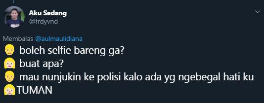 cuitan gagal ngegombal © 2019 Twitter