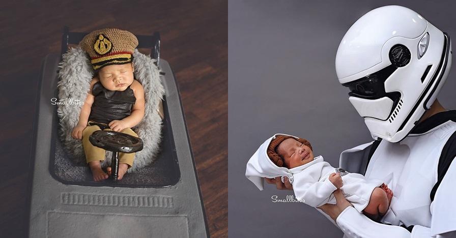 20 Inspirasi foto newborn karya Rittar Radjagukguk, beragam tema