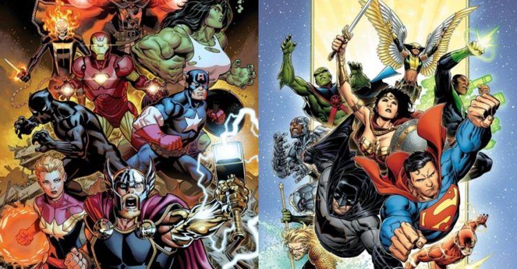 15 Karakter Marvel dan DC ini punya kemiripan