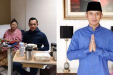 7 Potret AHY temani Ani Yudhoyono di rumah sakit, penuh kasih