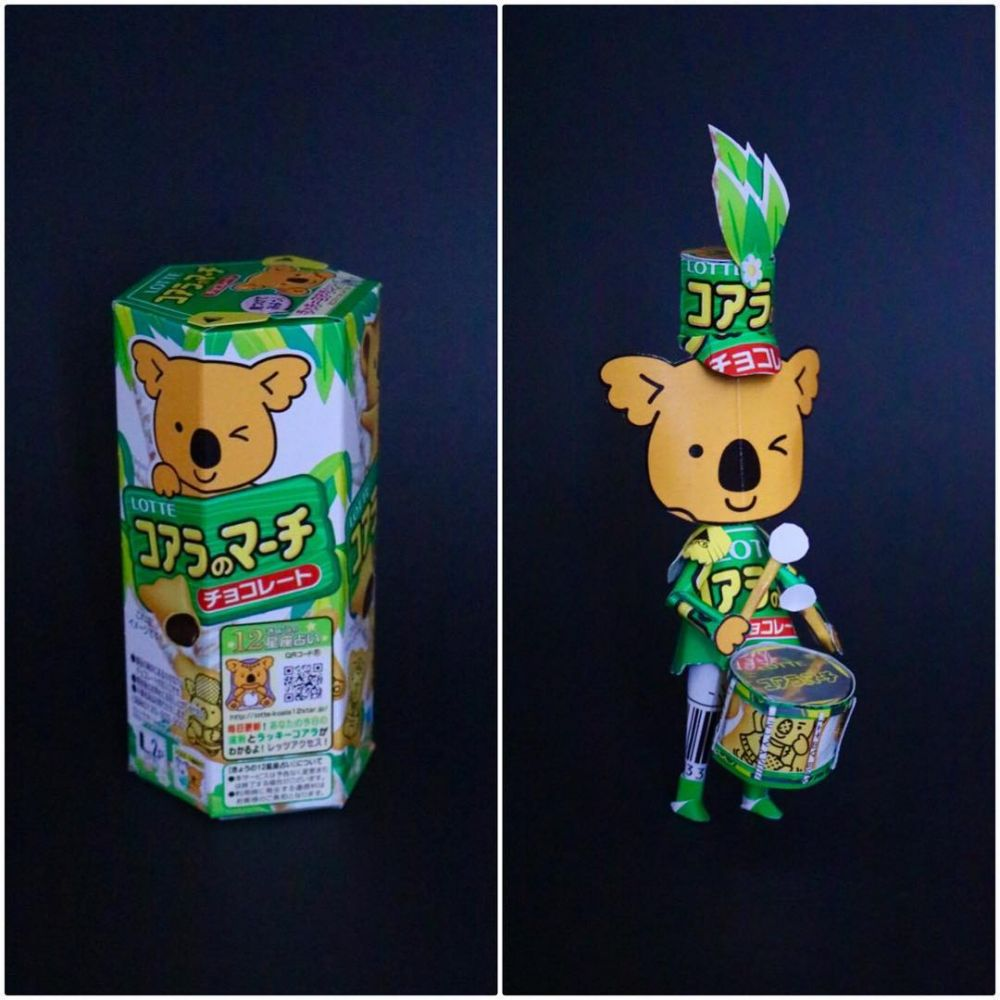 kreasi bungkus seni makanan © Instagram/@kharukik97