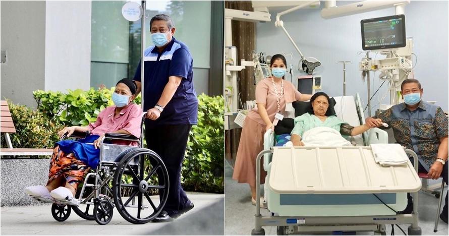 Kondisi Ani Yudhoyono kembali menurun dan tak sadarkan diri