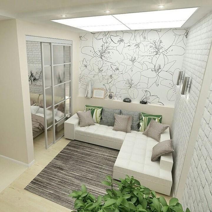 Desain apartemen kecil, cozy abis istimewa