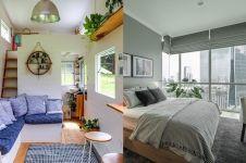 20 Desain apartemen kecil, cozy abis