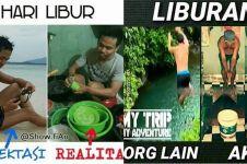10 Meme lucu ekspektasi vs realita saat liburan, ngenes banget