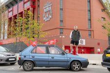 Demi laga final, fans Liverpool naik mobil butut Rp 700 ribu ke Madrid