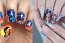 12 Nail art bertemakan karakter Disney, detailnya bikin takjub