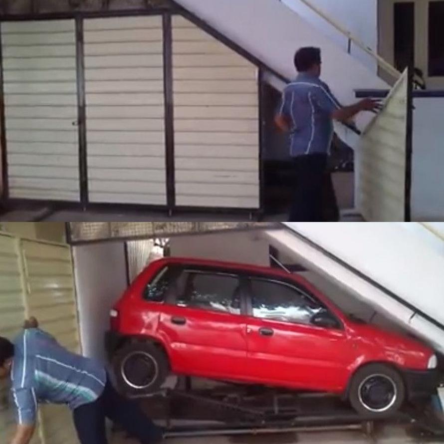 garasi mobil unik © 2019 berbagai sumber