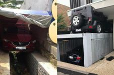 11 Potret lucu garasi mobil antimainstream ini bikin nyengir