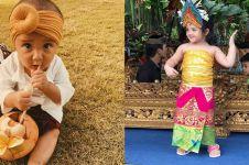 Potret 7 anak seleb kenakan baju adat Bali, gemas abis