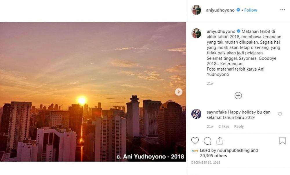 Ani Yudhoyono cinta fotografi, ini 15 foto apik karyanya berbagai sumber