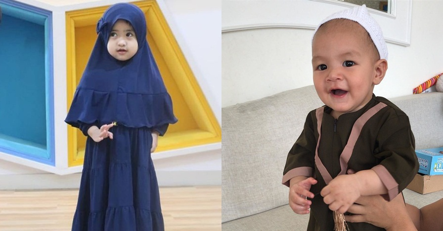 10 Inspirasi baju Lebaran anak seleb, modis dan stylish